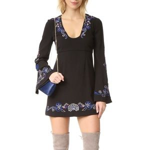 "NWT Free People ""Holiday Folk"" Mini Dress"